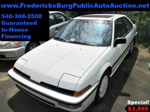 1989 Acura Integra for sale at FPAA in Fredericksburg VA