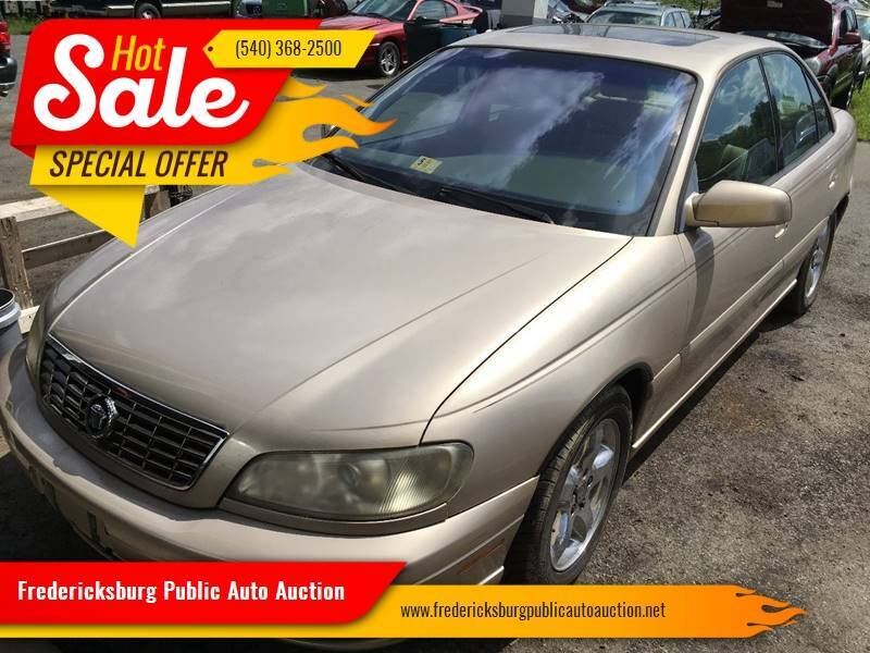 2001 Cadillac Catera for sale at FPAA in Fredericksburg VA