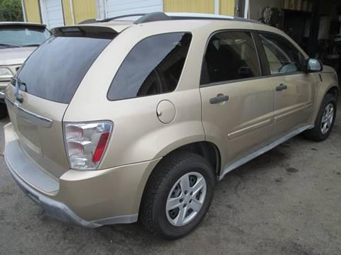 2005 Chevrolet Equinox for sale at FPAA in Fredericksburg VA