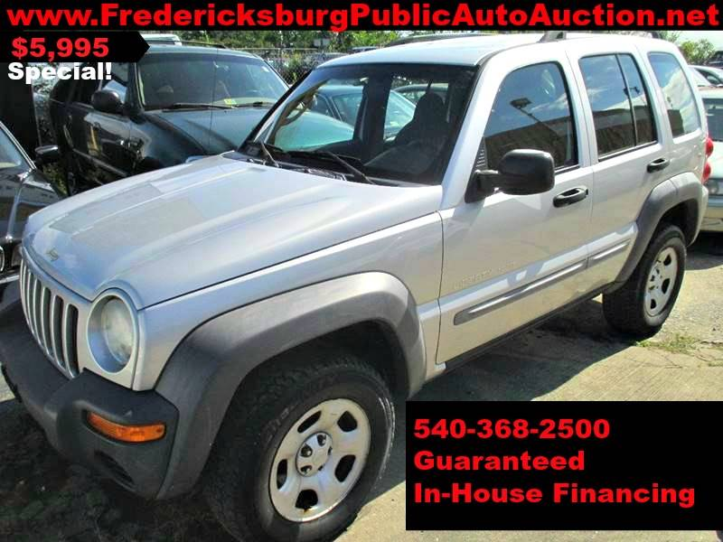 2002 Jeep Liberty For Sale At Fredericksburg Public Auto Auction In  Fredericksburg VA