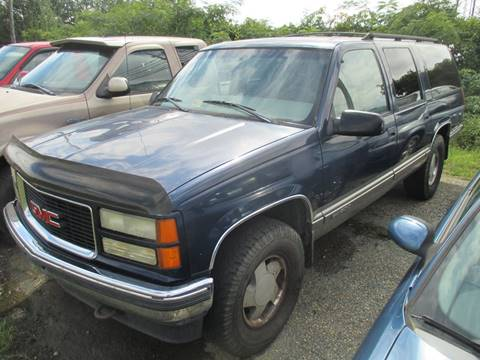 1999 GMC Suburban for sale at FPAA in Fredericksburg VA