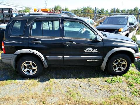 2001 Chevrolet Tracker for sale at FPAA in Fredericksburg VA