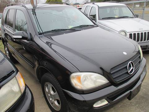 2003 Mercedes-Benz M-Class for sale at FPAA in Fredericksburg VA