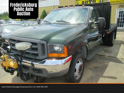 1999 Ford F-450 Super Duty for sale at FPAA in Fredericksburg VA