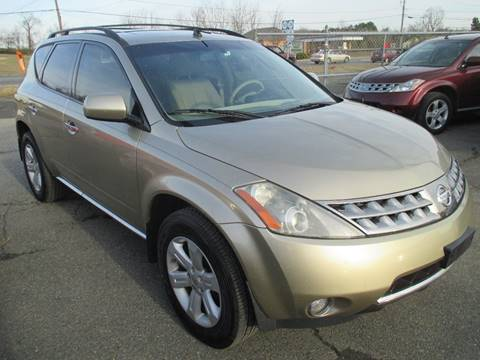2006 Nissan Murano for sale at FPAA in Fredericksburg VA
