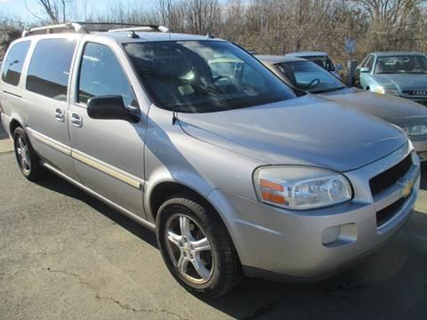 2005 Chevrolet Uplander for sale at FPAA in Fredericksburg VA