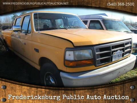 1994 Ford F-350 for sale at FPAA in Fredericksburg VA