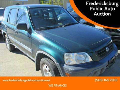 2001 Honda CR-V for sale at FPAA in Fredericksburg VA
