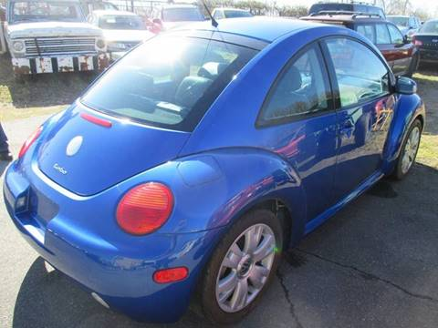 2003 Volkswagen New Beetle for sale at FPAA in Fredericksburg VA