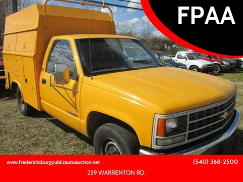 1992 Chevrolet C/K 3500 Series for sale at FPAA in Fredericksburg VA