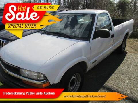 2000 Chevrolet S-10 for sale at FPAA in Fredericksburg VA