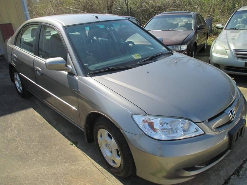2004 Honda Civic For Sale At Fredericksburg Public Auto Auction In  Fredericksburg VA