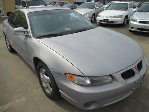 1999 Pontiac Grand Prix for sale at FPAA in Fredericksburg VA