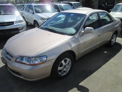 2000 Honda Accord for sale at FPAA in Fredericksburg VA