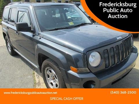 2008 Jeep Patriot for sale at FPAA in Fredericksburg VA