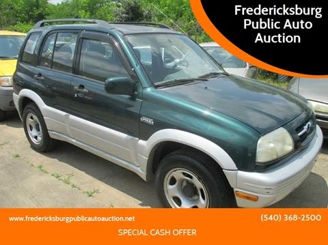 1999 Suzuki Grand Vitara for sale at FPAA in Fredericksburg VA