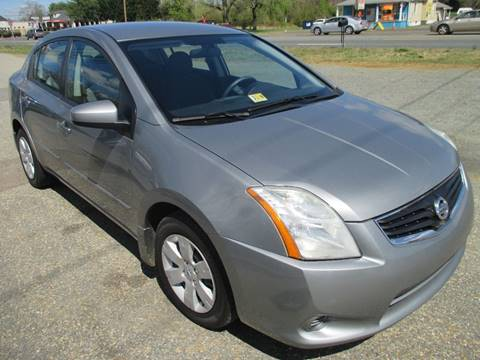 2010 Nissan Sentra for sale at FPAA in Fredericksburg VA