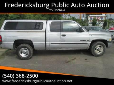 2001 Dodge Ram Pickup 1500 for sale at FPAA in Fredericksburg VA