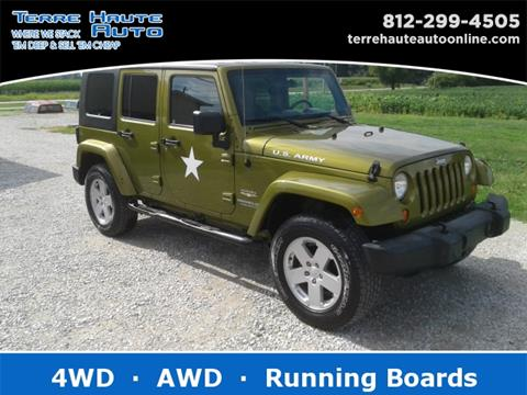 jeep wrangler for sale in terre haute in. Black Bedroom Furniture Sets. Home Design Ideas