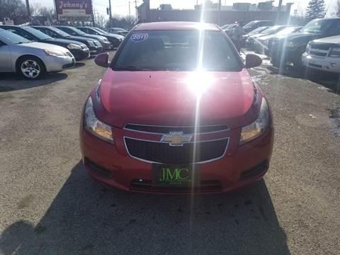 2011 Chevrolet Cruze LT Fleet for sale at Johnny's Motor Cars in Toledo OH