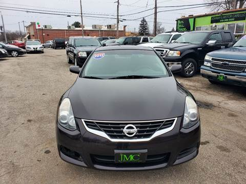 2012 Nissan Altima 2.5 S for sale at Johnny's Motor Cars in Toledo OH