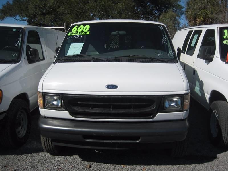 Ford E-Series Cargo 2001 E 250 3dr Cargo Van