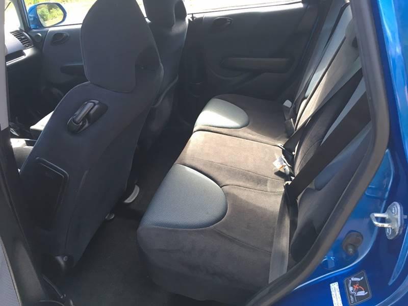 2008 Honda Fit Sport 4dr Hatchback 5A - Griswold CT