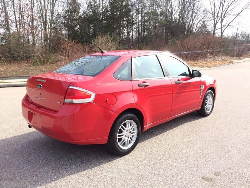 2008 Ford Focus SE 4dr Sedan - Griswold CT