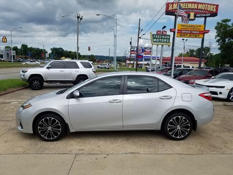 2014 Toyota Corolla for sale in Gadsden, AL