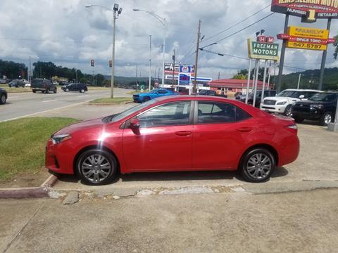 2016 Toyota Corolla for sale in Gadsden, AL