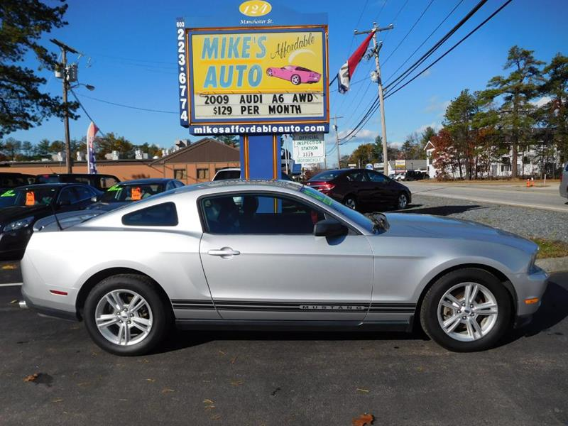 Ford Mustang In Concord NH Mikes Affordable Auto - Audi concord nh