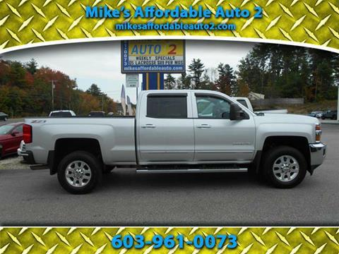 2015 Chevrolet Silverado 2500HD for sale in Chichester, NH