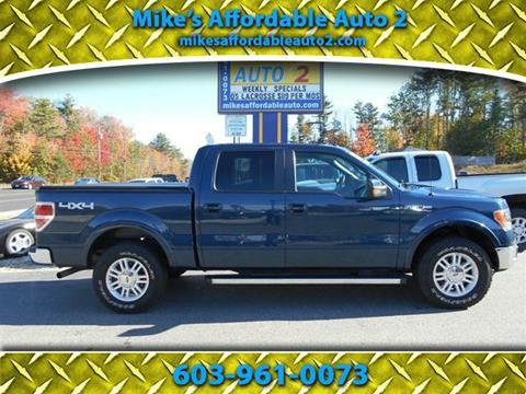 2013 Ford F-150 for sale in Chichester, NH