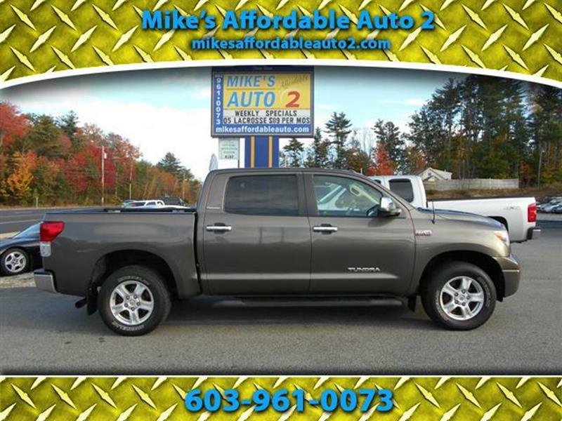 2010 Toyota Tundra Limited In Chichester Nh Mikes Affordable Auto 2