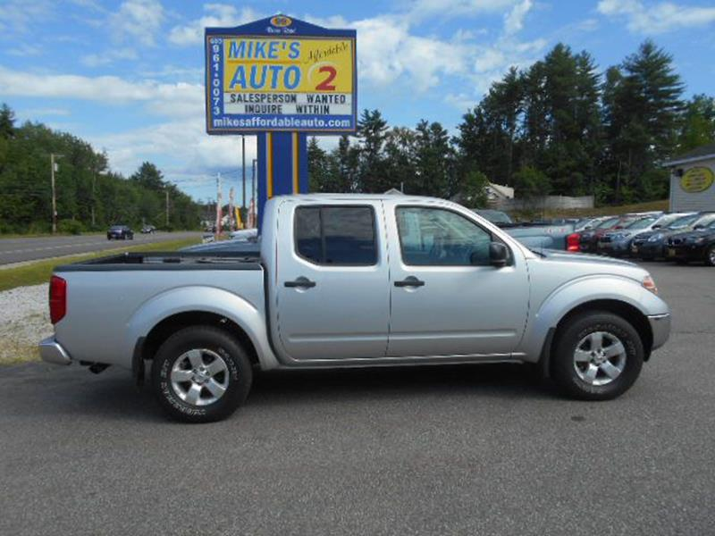 2009 Nissan Frontier In Chichester Nh Mikes Affordable Auto 2
