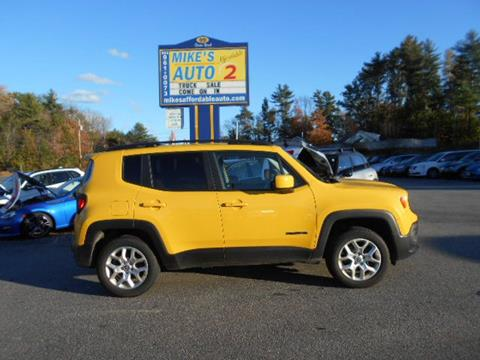 2016 Jeep Renegade for sale in Chichester, NH