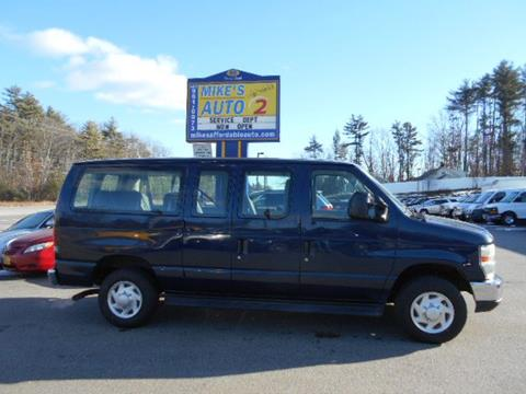 2009 Ford E-Series Wagon for sale in Chichester, NH