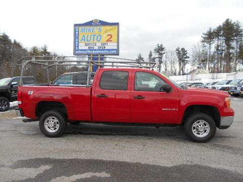 2009 GMC Sierra 2500HD for sale in Chichester, NH