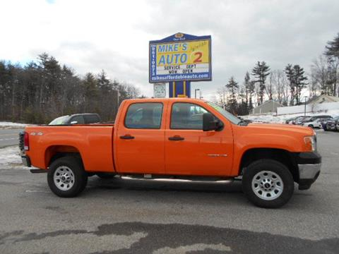 2013 GMC Sierra 3500HD for sale in Chichester, NH