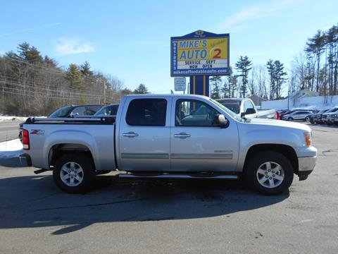 2011 GMC Sierra 1500 for sale in Chichester, NH