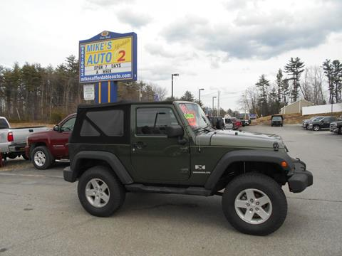 2008 Jeep Wrangler for sale in Chichester, NH