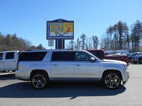 2015 GMC Yukon XL for sale in Chichester, NH