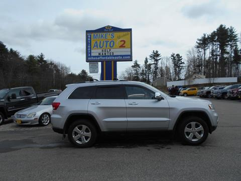 2011 Jeep Grand Cherokee for sale in Chichester, NH