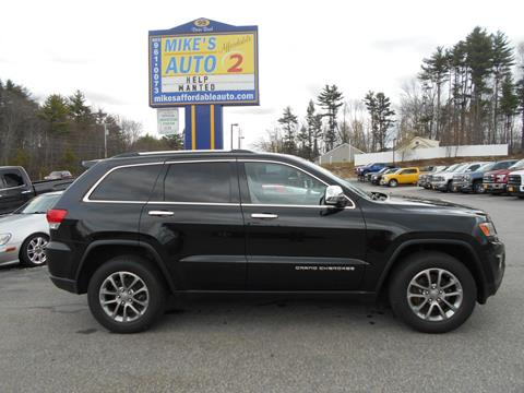 2015 Jeep Grand Cherokee for sale in Chichester, NH