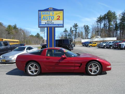 Chevrolet Corvette For Sale In Chichester Nh Mike S