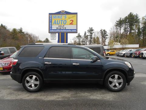 2012 GMC Acadia for sale in Chichester, NH