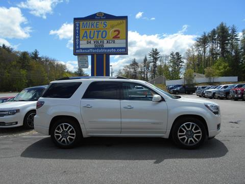 2014 GMC Acadia for sale in Chichester, NH