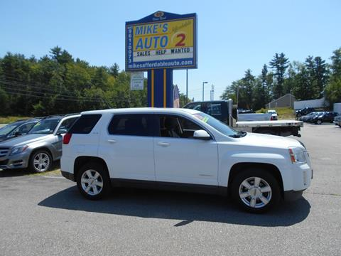 2013 GMC Terrain for sale in Chichester, NH