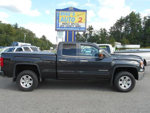 2015 GMC Sierra 1500 for sale in Chichester, NH