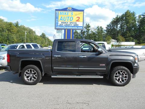 2014 GMC Sierra 1500 for sale in Chichester, NH